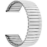 Guardia cinturino in acciaio inox elastico in acciaio inox 16mm 18mm 20mm 22mm 24mm Sostituzione cinturino di ricambio…