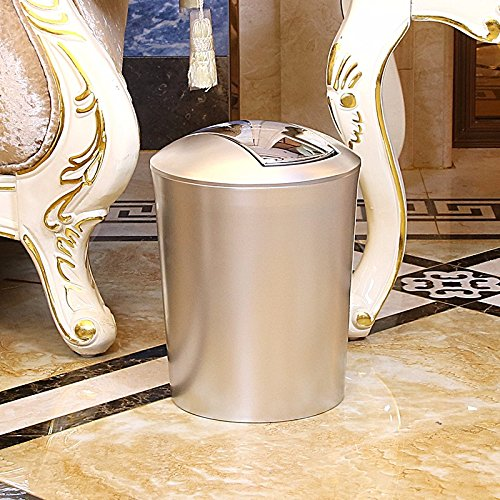 KPHY-WC cubo de basura, sala, cubo de la basura de la casa, cubierta con Shake tapa basura cesta,B