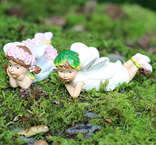 Jardin Fée Pixie fille et garçon