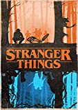 "Poster Stranger Things ""Vintage"" 01 - Formato A3 (42x30 cm)"