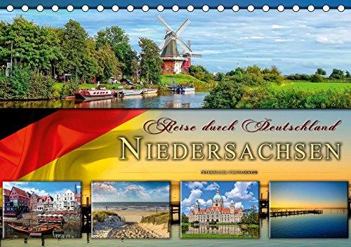 Reise durch Deutschland - Niedersachsen (Tischkalender 2019 DIN A5 quer): Niedersachsen, vielseitiges Bundesland im Norden Deutschlands. (Monatskalender, 14 Seiten ) (CALVENDO Orte)