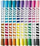 Maped Color 'Peps DUO Doppelseitige Filzstifte 10Stück Stifte = 20Farben