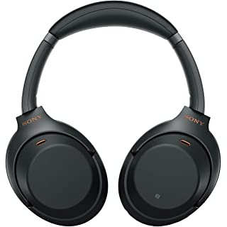 Sony WH 1000XM3 Industry Leading Wireless Noise Cancelling Headphones, Bluetooth Headset with Mic for Phone Calls, 30 Hours B