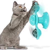 Miuphro Yellow Katzenspielzeug, katzenspielzeug windmühle ComSaf Durable Cat Scratch, Mäuse mit Rasselgeräuschener