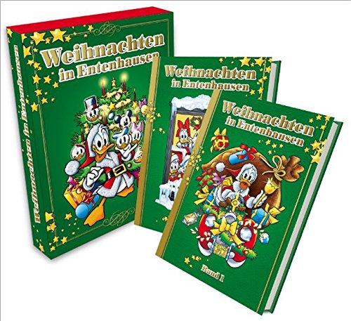 Weihnachten in Entenhausen: Sondereditionsbox mit 2 Bänden