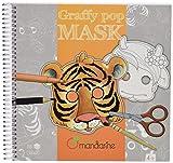 Carnet de coloriage et masques - Graffy Pop Mask : Animaux...