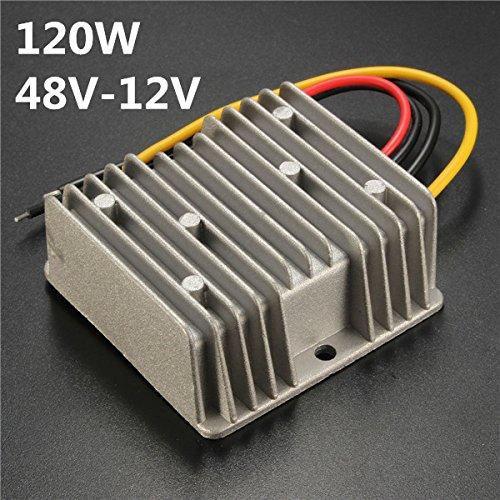 RanDal Dc/Dc 48V To 12V 10A 120W Reducer Converter Regulator Wasserproof Power Voltage -
