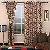 Silk Curtains for Doors 2 Piece Eyelet (...