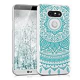 kwmobile LG G5 / G5 SE Hülle - Handyhülle für LG G5 / G5 SE - Handy Case in Mintgrün Transparent