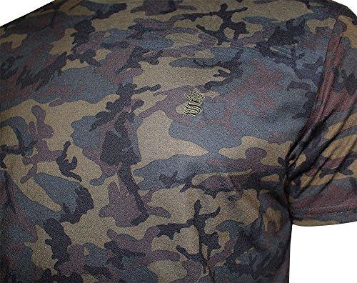 SoulStar Herren T-Shirt, Camouflage Khaki