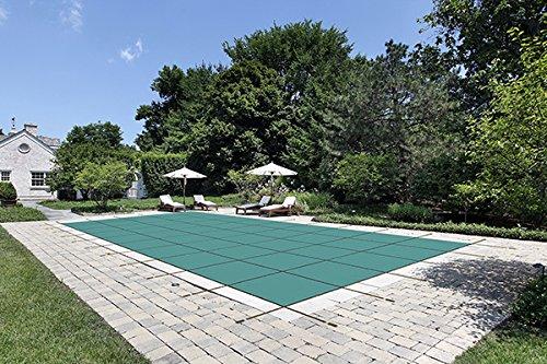 Pool Sicherheit Cover für A 20x 40Pool, grün Mesh