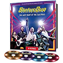 Live at the O2 Arena, London 2016. The Last Night of the Electrics (Hardcover Book, 2CD/DVD/BLU-Ray)