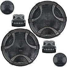 Haut-parleur auto - Hertz ESK 165.5 - Kit 2 voies séparées 300 W avec woofer 165 mm, tweeter 26 mm et filtre