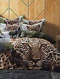 ZQ BETTERHOME 4Stück aus reiner Baumwolle einheitliche Definition stereoskopische 3d Tiere drucken-Spiele Bettbezüge Bettwäsche, Queen