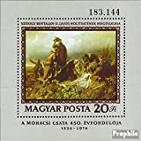 Ungarn Block120A (kompl.Ausg.) 1976 Schlacht bei Mohács (Briefmarken für Sammler)