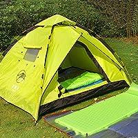 Outdoor-Gang-Automatik offenen Zelt Outdoor-Camping-Zelt 3-4 Personen Outdoor-Zelt 2 Personen Doppel Familie mit dem Auto unterwegs