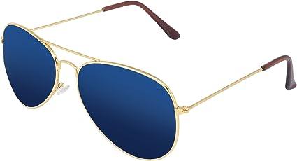Silver Kartz Classic Aviator Men's Sunglasses (wy108 40 Blue)