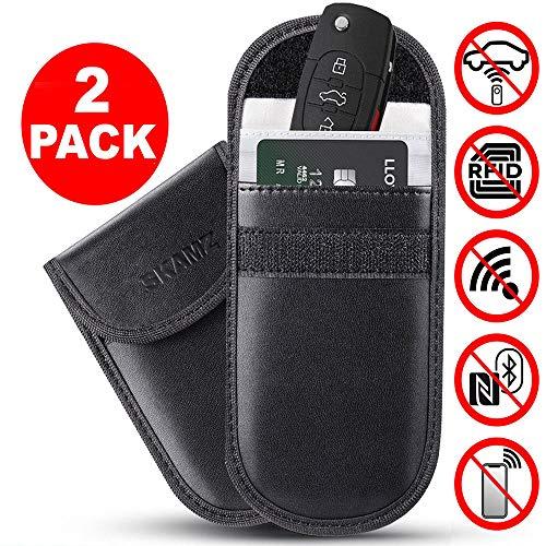 Car Key Signal Blocker Pouch, PU...