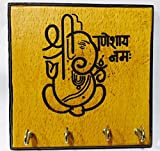 Karigaari India Wooden Engraving Ganesha...