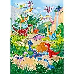 Papel Pintado Dino World papel pintado, foto mural, formato grande, 183 x 254 cm, mural, pósteres murales, XXL Poster