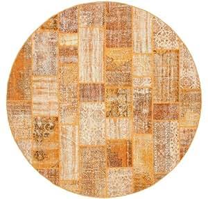 patchwork teppich 300 moderner rund teppich k che haushalt. Black Bedroom Furniture Sets. Home Design Ideas