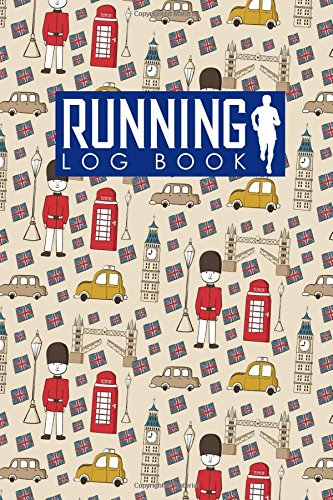 Running Log Book: Runners Log Book, Running Log Journal, Training Logs For Runners, Track Distance, Time, Speed, Weather, Calories & Heart Rate: Volume 34 (Running Log Books) por Rogue Plus Publishing