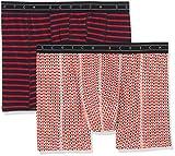 Scotch & Soda Herren Boxershorts Boxer Short in Colourful All-Over Print & Stripe, 2er Pack, Mehrfarbig (Combo C 0219),Medium
