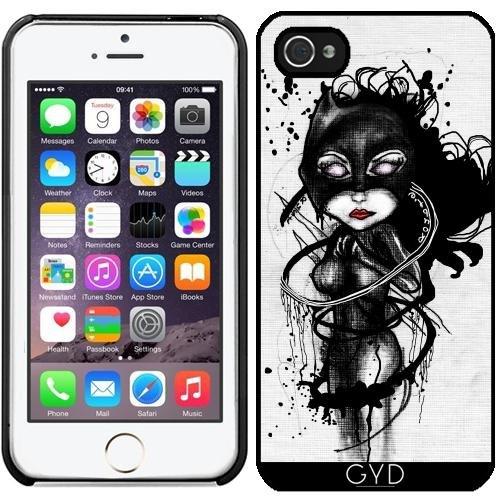 (DesignedByIndependentArtists Hülle für iPhone 5/5S - Krallen Lynx by Rouble Rust)