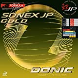 DONIC Sonex Jp Gold Table Tennis Rubber (Red)