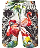 TUONROAD Badehose Herren,Hawaii Boardshorts mit Kordelzug Herren Freizeit Shorts Bademode Badeshorts