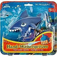 Die Spiegelburg Hand Water Squirter Water Pistol Blue Shark Water Toys Beach Swimming Pool Summer Fun