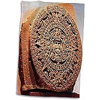 3dRose México City, Sun Stone Calendario Azteca, Sa13 Mgl0000, Miva Stock Toalla,