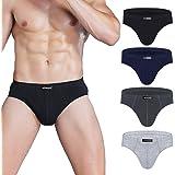 wirarpa Men's Underwear Briefs Cotton Multipack Gents Classic Slips Soft Waistband Underpants