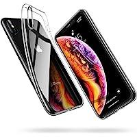 ESR Cover Compatibile con iPhone XS, Cover Compatibile con iPhone X, Custodia Gel Trasparente Morbida Silicone Sottile…