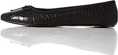 Marchio Amazon - find. - Leather Ballet Pump, Ballerine Donna