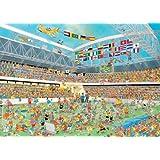 Jumbo 17459 - Jan van Haasteren - Fußballmeisterschaft Puzzle, 1000 Teile