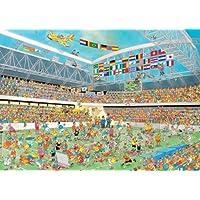 Jan van Haasteren -  Football Crazy 1000 Piece Jigsaw Puzzle