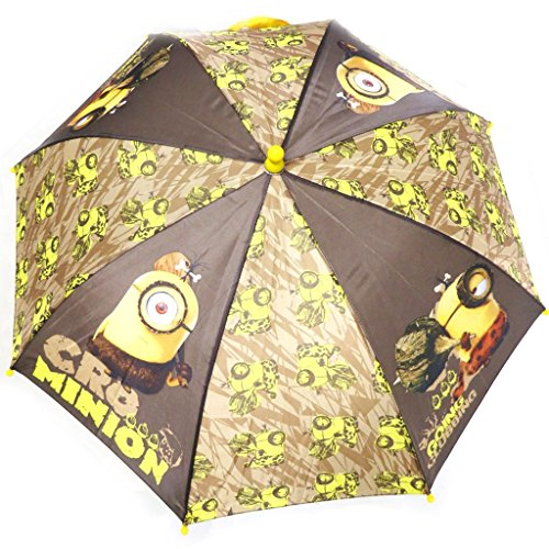 Niño paraguas 'Minions'marrón (63 cm).