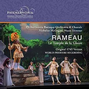 Rameau:Temple De La Gloire [Various] [Philharmonia Baroque Productions: PBP-10]