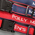 Luggage Straps Personalised Woven with name