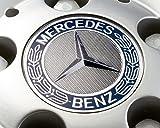 Radnabenabdeckung Stern mit Lorbeerkranz Original Mercedes Benz 4 Stück