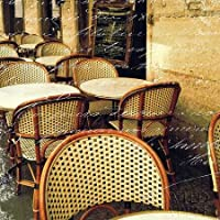 Paris Bistro Lettera by Schlabach, Sue – stampa fine art disponibile su tela e carta, Tela, SMALL (12 x 12 Inches