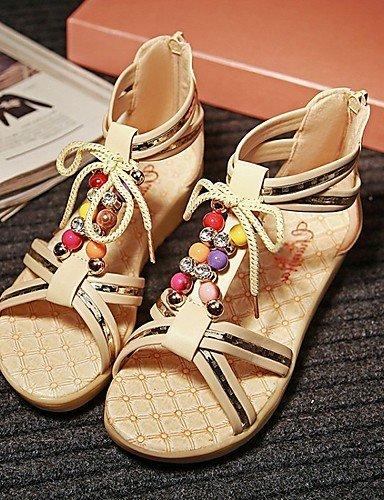 LFNLYX Scarpe Donna-Sandali / Sneakers alla moda / Ciabatte / Solette interne e accessori-Matrimonio / Ufficio e lavoro / Serata e festa / beige