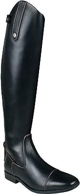 QHP Donna Lusso in Pelle da equitazione Stivali Celina