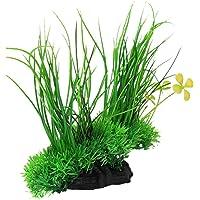 Electomania Artificial Ornament Green Underwater Plant Fish Tank Aquarium (Green)