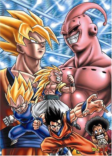 Dragon Ball Z 500 piece Warrior VS Majin Buu AM500-66 by ensky