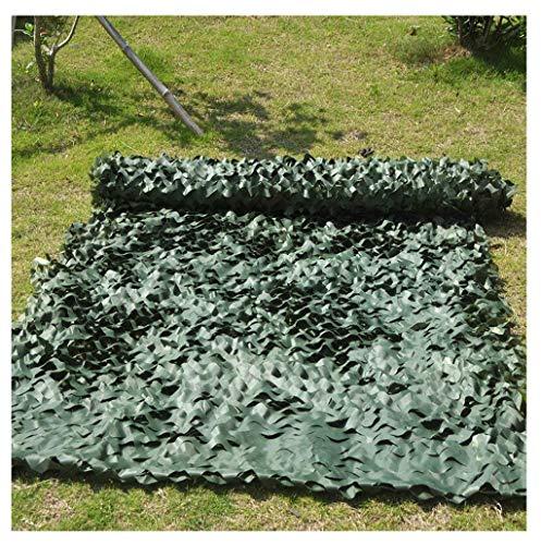 snetz mit ösen Oxford Tuch Camouflage Net für Camping versteckte Wald Jagd Camouflage Fotografie Spiel Halloween Weihnachtsdekoration Markisen 2x3m 3x5m (Color : A, Size : 6 * 8m) ()
