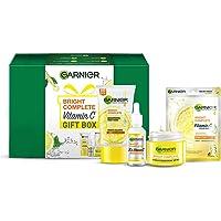 Garnier VITAMIN C Gift Box (Bright Complete Brighgtening Facewash 150g, Bright Complete Vitamin C Serum 30ml, Bright…
