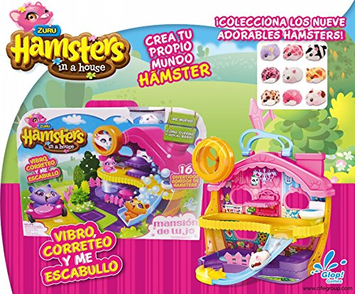 Hamster Playset Palazo di Lusso (Glop Games 98077)