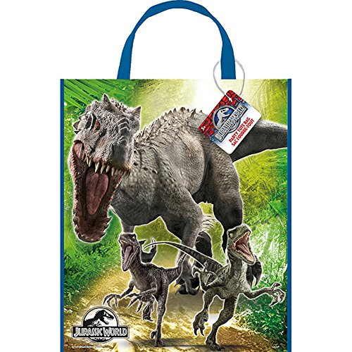 unique-party-jurassic-world-busta-per-regali-taglia-unica-multicolore